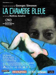 poster La chambre bleue (2014)