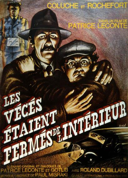 poster Les veces etaient fermes de l'interieur (1976)
