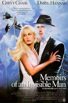 poster Memoirs of an Invisible Man (1992)