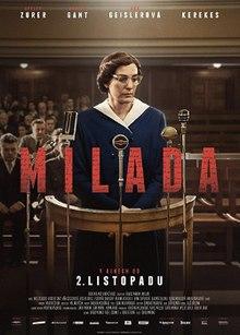 poster Milada (2017)