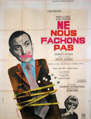 poster Ne nous fachons pas (1966)