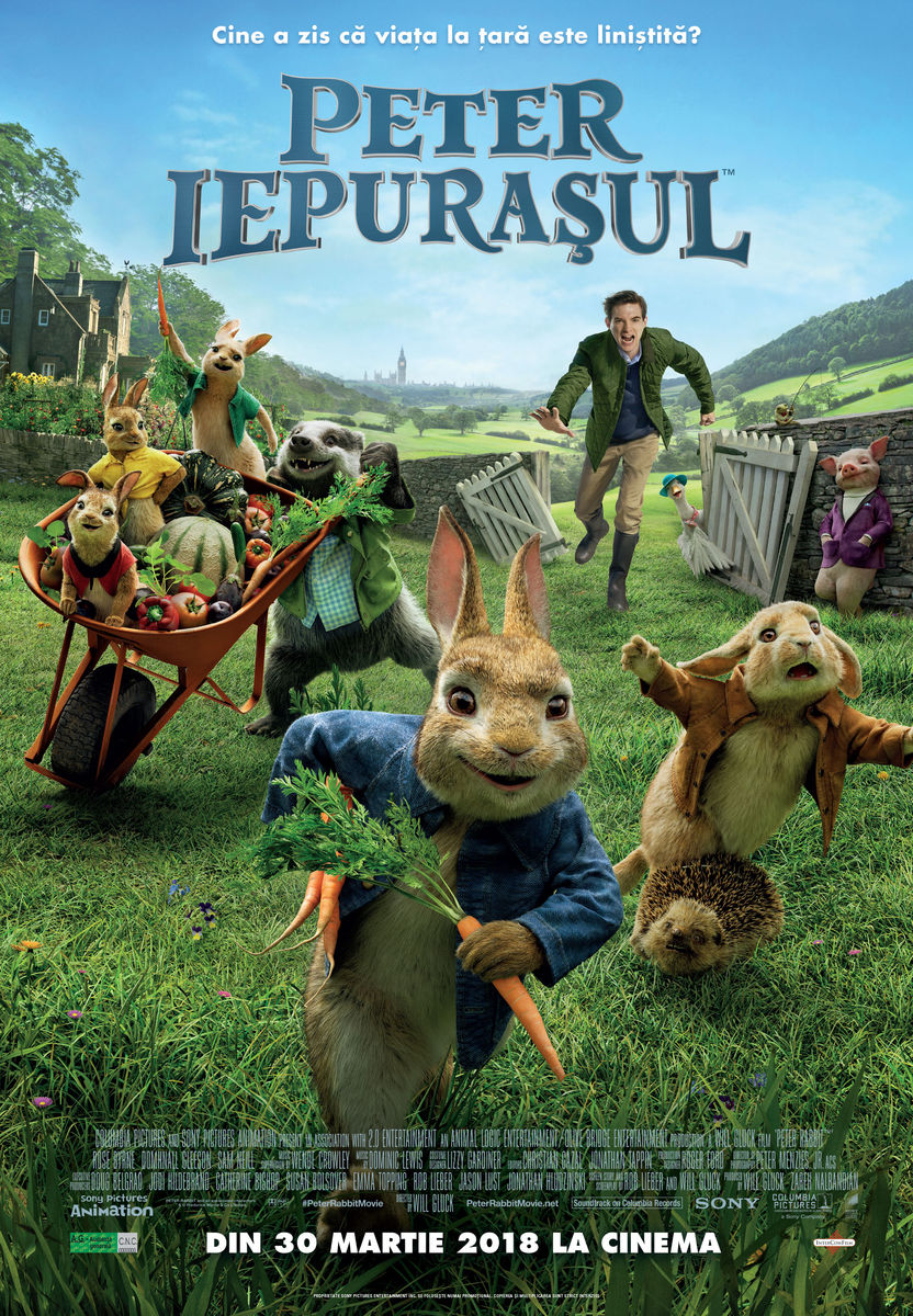 poster Peter Rabbit (2018)