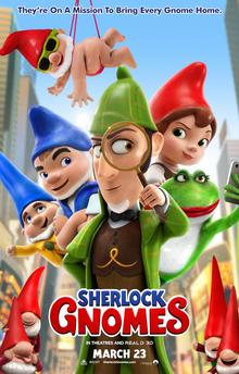 poster Sherlock Gnomes (2018)