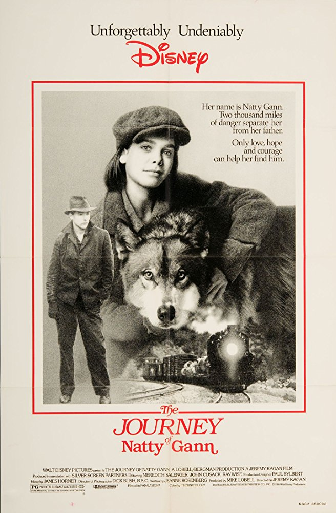 poster The Journey of Natty Gann (1985)