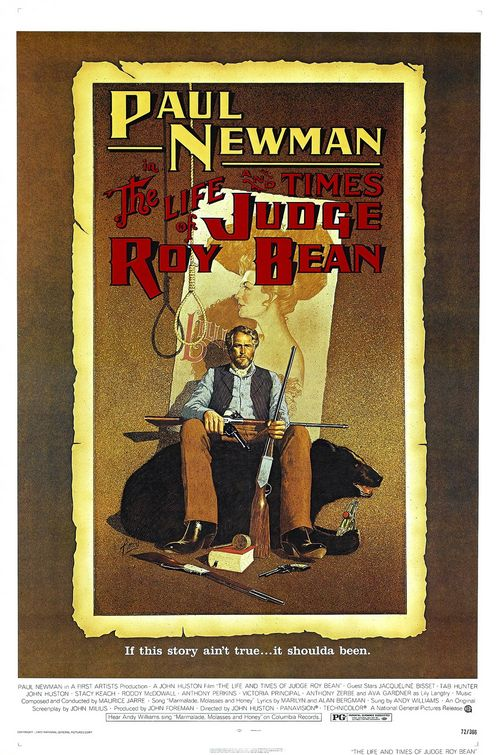 poster The Life And Times Of Judge Roy Bean (1972)