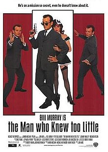 poster The Man Who Knew Too Little (1997)