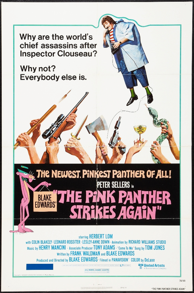poster The Pink Panther Strikes Again (1976)