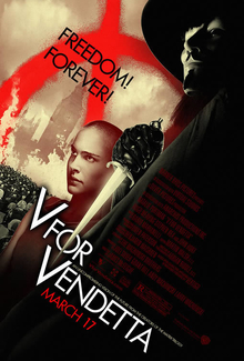 poster V for Vendetta (2005)