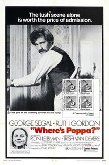 poster Where's Poppa (1970)