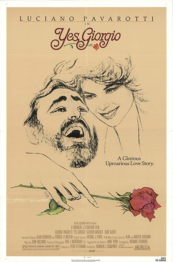 poster Yes, Giorgio (1982)