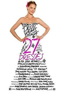 poster 27 Dresses (2008)