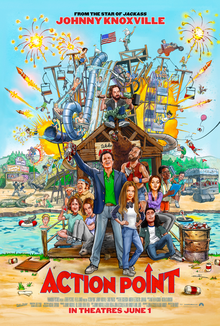 poster Action Point (2018)