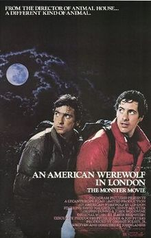 poster An American Werewolf in London (1981)