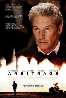 poster Arbitrage (2012)