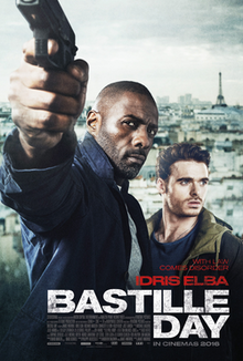 poster Bastille Day (2016)