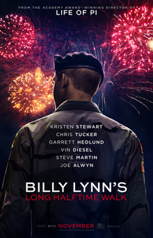 poster Billy Lynn's Long Halftime Walk (2016)