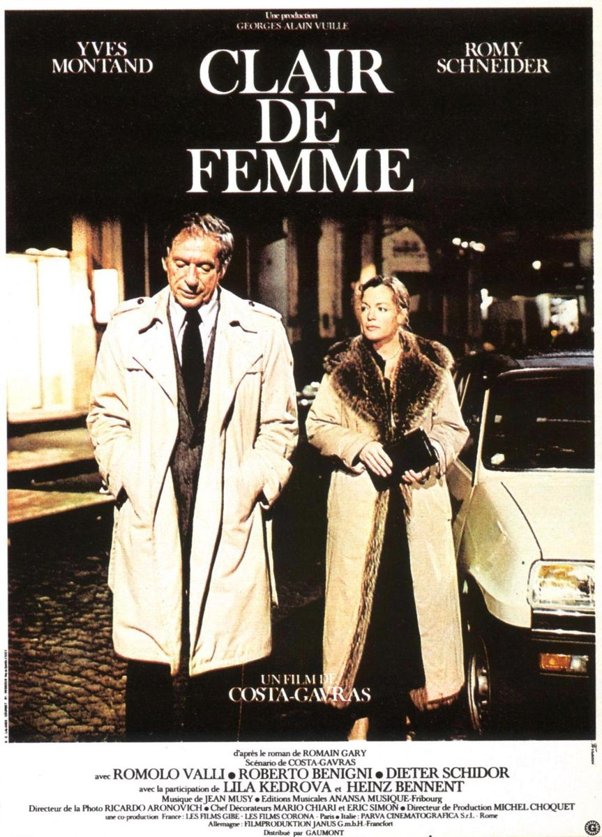 poster Clair de femme (1979)