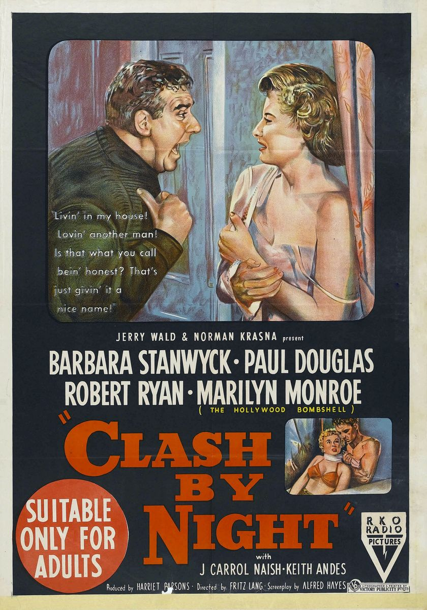 poster Clash by Night (1952)