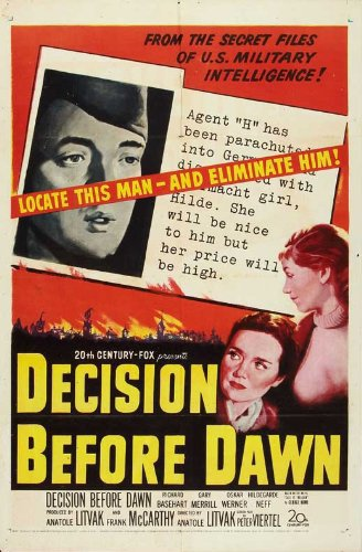 poster Decision Before Dawn (1951)