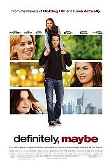 poster Definitely, Maybe (2008)