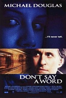 poster Don't Say a Word (2001)