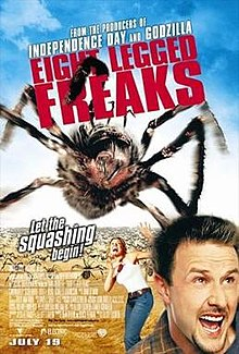 poster Eight Legged Freaks (2002)