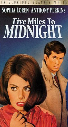 poster Five Miles to Midnight (1962)