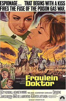 poster Fraulein Doktor (1969)