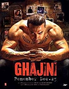 poster Ghajini (2008)