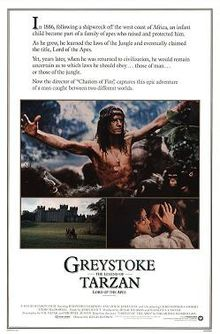 poster Greystoke The Legend of Tarzan, Lord of the Apes (1984)
