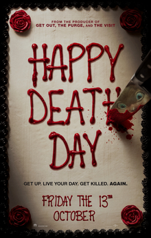 poster Happy Death Day (2017)