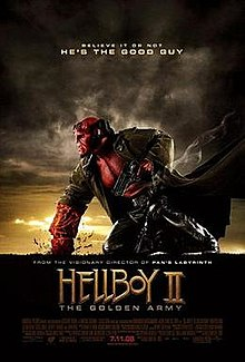 poster Hellboy II The Golden Army (2008)