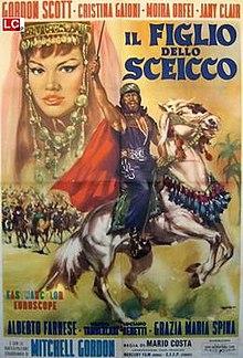 poster Il figlio dello sceicco (1962)