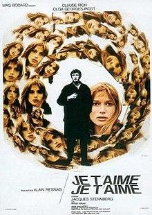 poster Je t'aime je t'aime (1968)