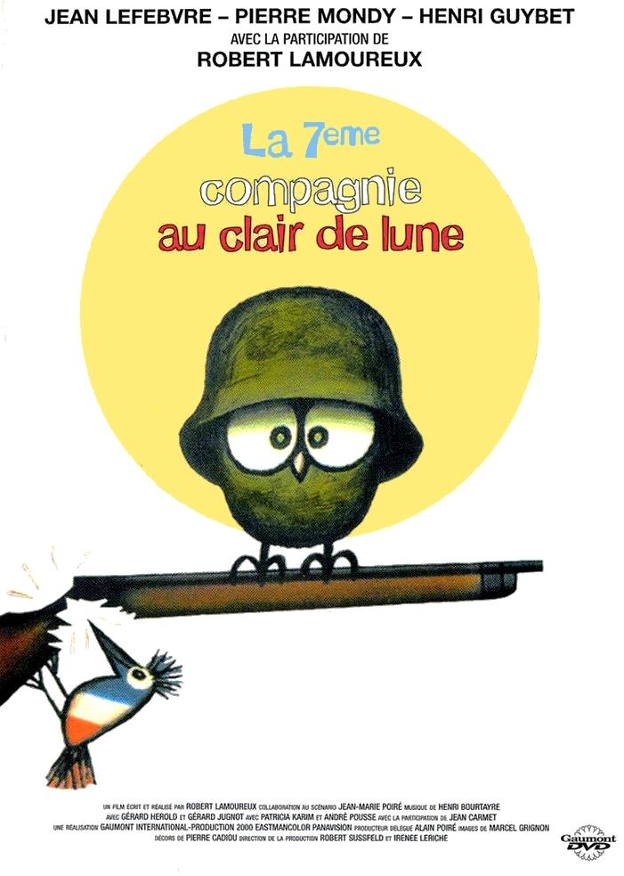 poster La 7eme compagnie au clair de lune (1977)