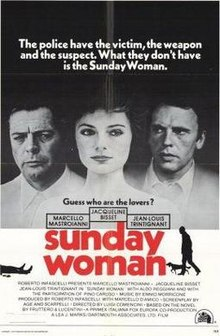 poster La donna della domenica (1975)