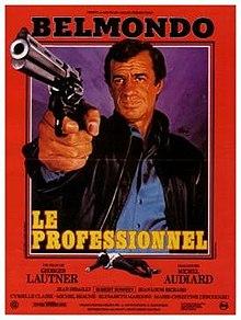 poster Le professionnel (1981)