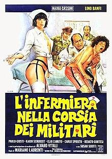 poster L'infermiera nella corsia dei militari (1979)
