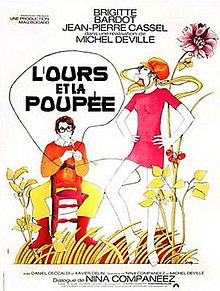 poster L'ours et la poupee (1970)