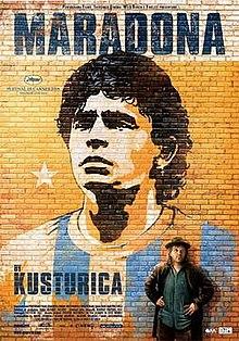 poster Maradona by Kusturica (2008)