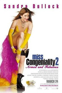poster Miss Congeniality 2 Armed & Fabulous (2005)