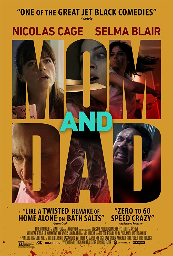 poster Mom and Dad (2017)