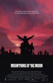 poster Mountains of the Moon (1990)