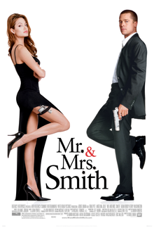 poster Mr. and Mrs. Smith (2005)