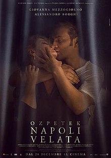poster Napoli velata (2017)