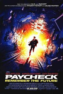 poster Paycheck (2003)