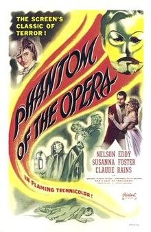 poster Phantom of the Opera (1943)