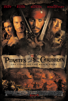 poster Pirates of the Caribbean The Curse of the Black Pearl (2003)