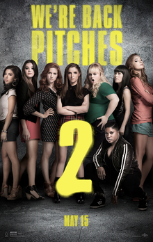poster Pitch Perfect 2 (2015)