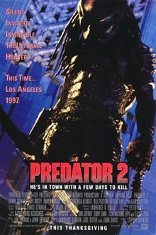 poster Predator 2 (1990)